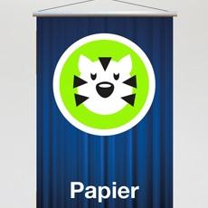 Papierbanner